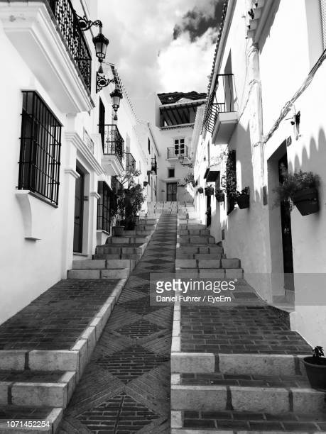 alley amidst buildings in city - house of the fuhrer stock pictures, royalty-free photos & images