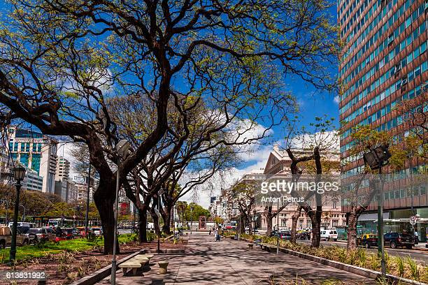 alley in buenos aires - palermo buenos aires stock photos and pictures