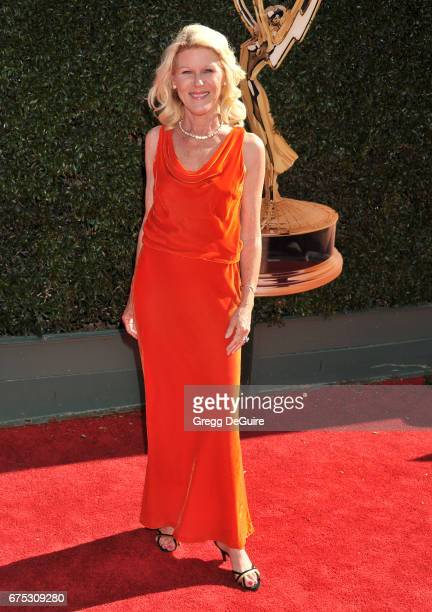 Alley Mills arrives at the 44th Annual Daytime Emmy Awards at Pasadena Civic Auditorium on April 30 2017 in Pasadena California