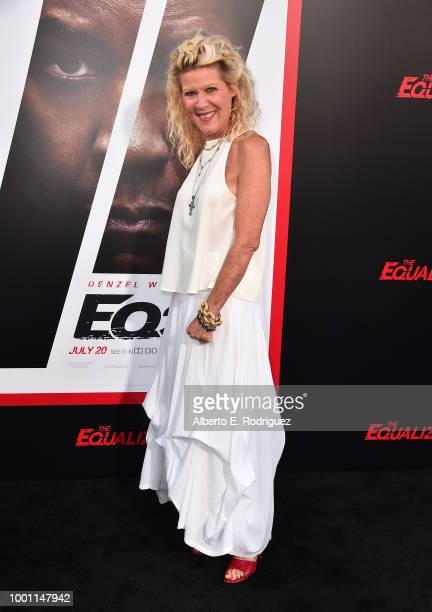 Alley Mills attend the premiere of Columbia Pictures' Equalizer 2 at the TCL Chinese Theatre on July 17 2018 in Hollywood California