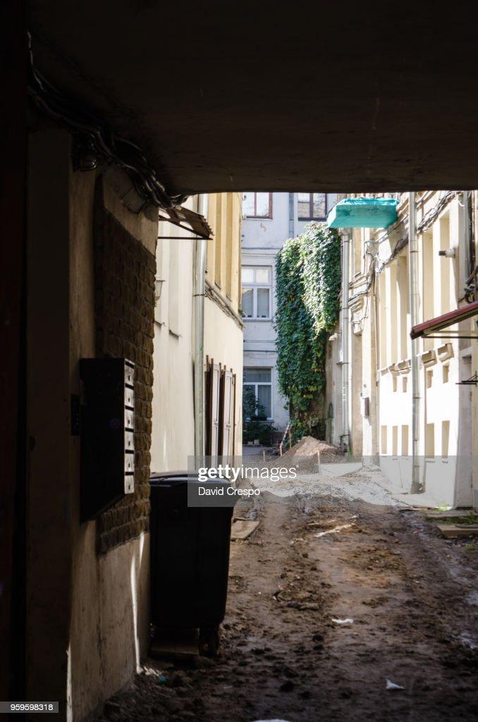 Alley : Stock-Foto