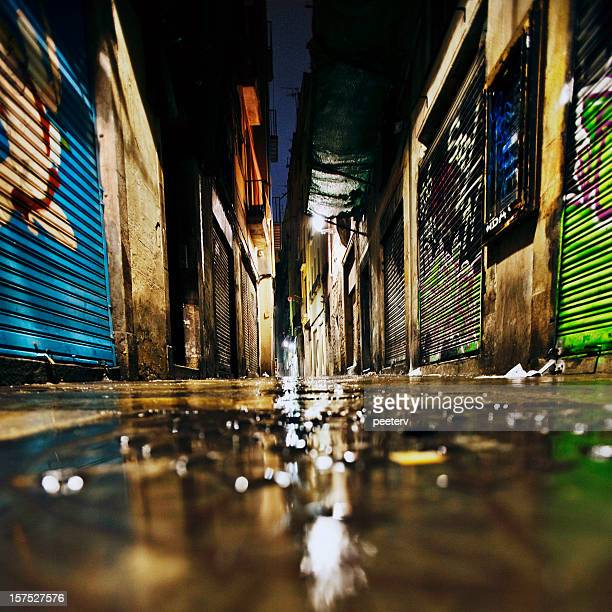 alley reflections