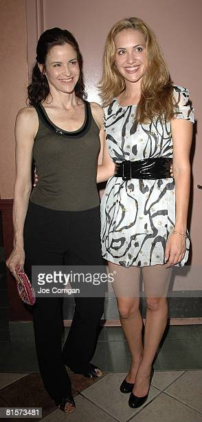 Alley Sheedy and Kate Siegal attend the 20th Annual Newfest Steam Premiere at AMC Loews 34th Street Theater June 14 2008 in New York City