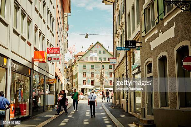 Alley to the Public Square, Lucerne Switzerland