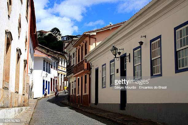 alleys of ouro preto - preto stock pictures, royalty-free photos & images