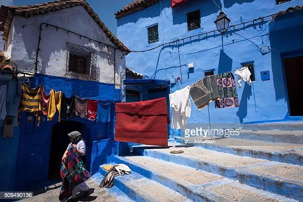 路地で、Morocoo シェシャウエン