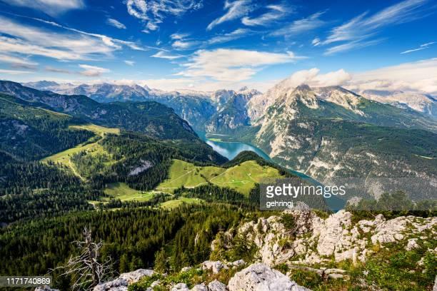 allgau alps, bavaria - baviera foto e immagini stock