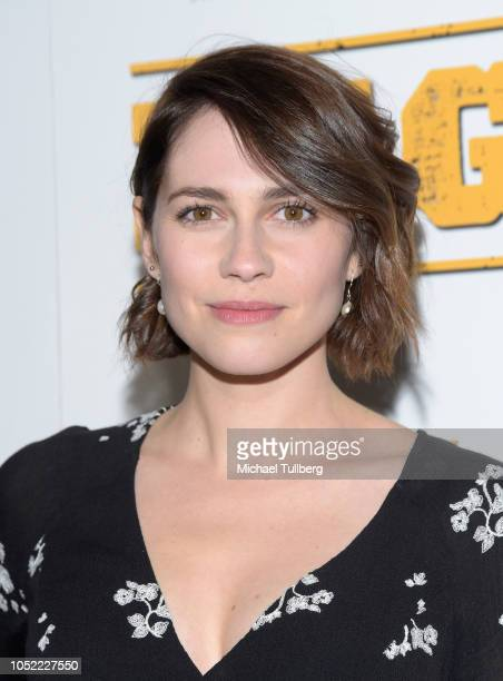 Alli Kinzel attends the world premiere of Archstone Distribution's 'Big Kill' at ArcLight Hollywood on October 15 2018 in Hollywood California