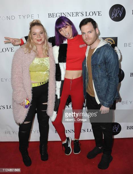 Alli McLaren She Nova Weirdo and guest attend Breana Raquel 'Beginner's Love' EP Release Party Diabetes Fundraiser held at Paramount Academy Of Music...