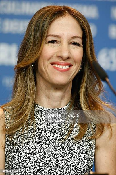 Alli Shearmur attends the 'Cinderella' press conference during the 65th Berlinale International Film Festival at Grand Hyatt Hotel on February 13...