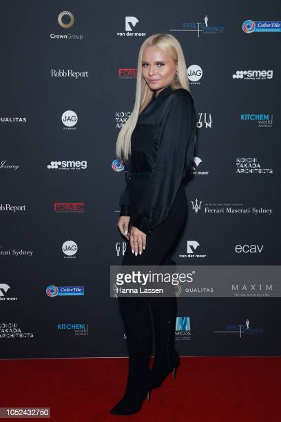 Alli Simpson attends the Mastery By Crown VIP Gala at Royal Hall of Industries Moore Park on October 18 2018 in Sydney Australia