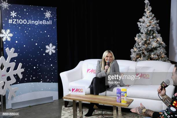 Alli Simpson attends the Z100 CocaCola All Access Lounge at Hammerstein Ballroom on December 8 2017 in New York City