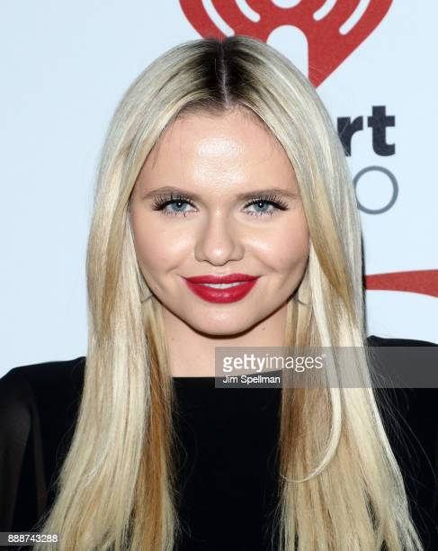 Alli Simpson attends the Z100's iHeartRadio Jingle Ball 2017 at Madison Square Garden on December 8 2017 in New York City