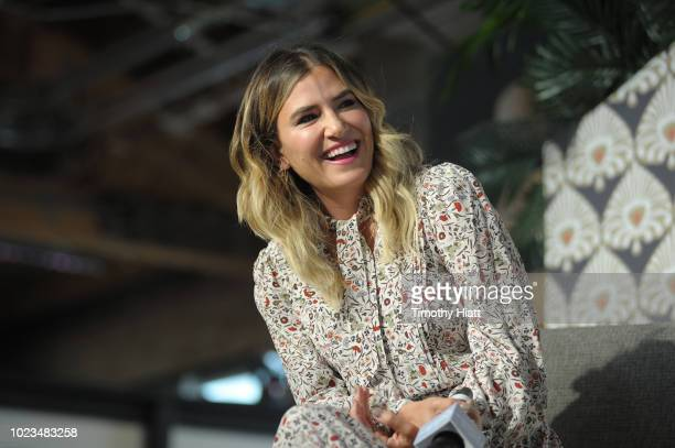 Alli Webb attends for Create Cultivate conference at the House of Vans with partners include Microsoft Teams JC Penney McDonalds and Comcast NBC...