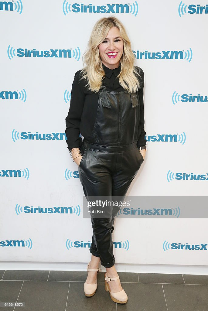 Alli Webb visits at SiriusXM Studio on October 19, 2016 in New York City.