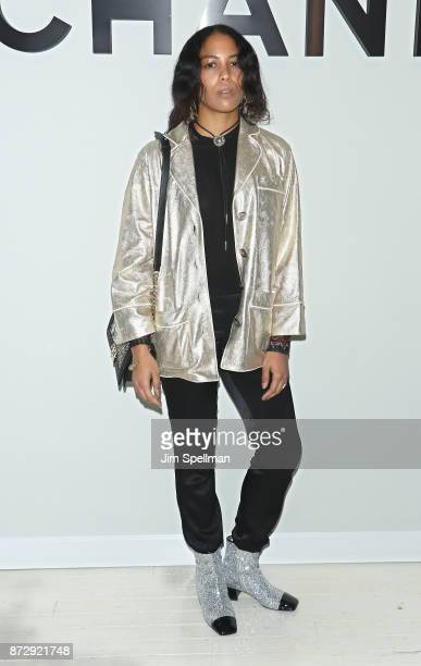 Alliah Mourad attends the launch of The Coco Club celebrated by CHANEL at The Wing Soho on November 10 2017 in New York City