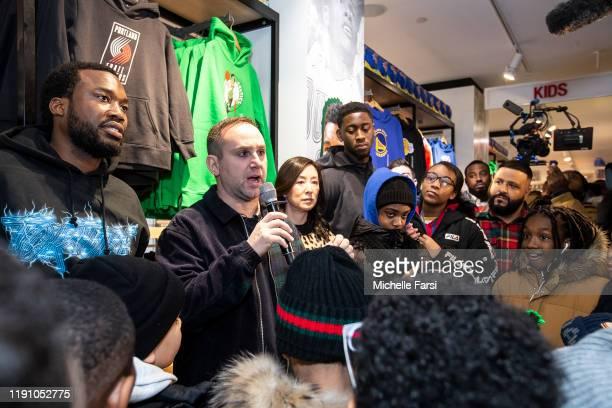 Alliance co-founders Michael Rubin, Meek Mill, Clara Wu Tsai, along with DJ Khaled and Brooklyn Nets player Caris LeVert, hosted a special VIP...