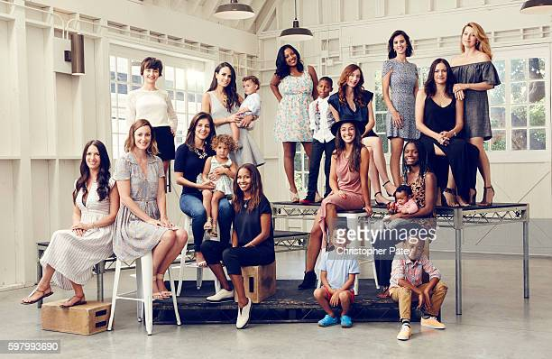 Alliance of Moms is photographed for The Hollywood Reporter on July 31 2015 in Los Angeles California Published Image