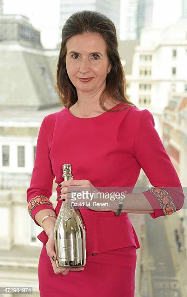 Alliance Trust CEO Katherine GarrettCox winner of the 43rd Veuve Clicquot Business Woman Awards 2015 poses on May 11 2015 in London England