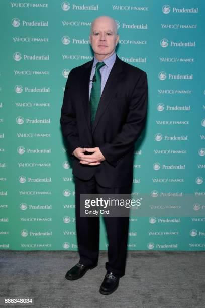 AllianceBernstein Partner CIO of Fixed Income Douglas J Peebles attends the Yahoo Finance All Markets Summit on October 25 2017 in New York City