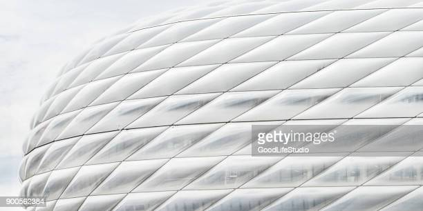 allianz arena in munich - bundesliga german soccer league stock pictures, royalty-free photos & images