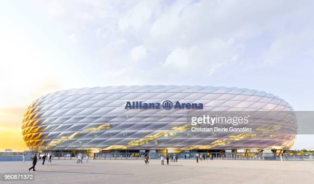 allianz arena - munich - christian beirle stock pictures, royalty-free photos & images