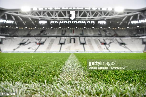 Allianz stadium general view during the Serie A match between Juventus and Benevento Calcio on November 5 2017 in Turin Italy