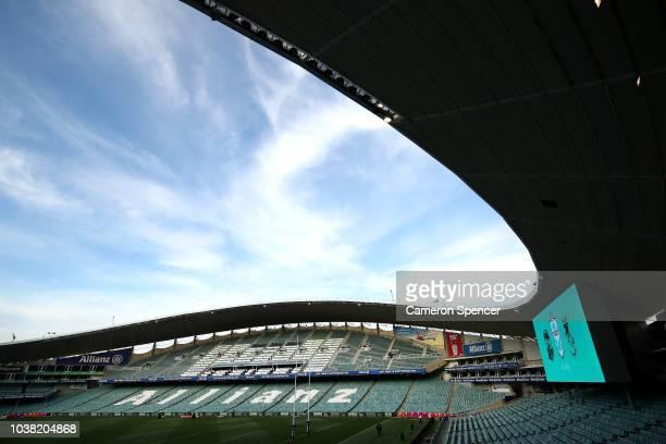Allianz Stadium in Sydney ahead of the final sporting fixture to be held prior to demolition on September 22 2018 in Sydney Australia Allianz Stadium...
