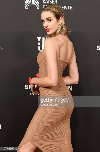 Allie Ayers attends the Sports Illustrated Sportsperson Of The Year Awards at The Beverly Hilton Hotel on December 11 2018 in Beverly Hills California