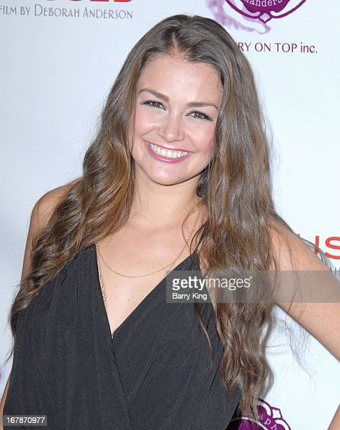 Allie Haze attends the Aroused Los Angeles Premiere on May 1 2013 at the Landmark Nuart Theatre in Los Angeles California