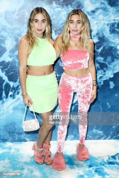 Allie Kaplan and Lexi Kaplan attend the 'UGG 40 Years' Anniversary Celebration at Chateau Marmont on October 4 2018 in Los Angeles California