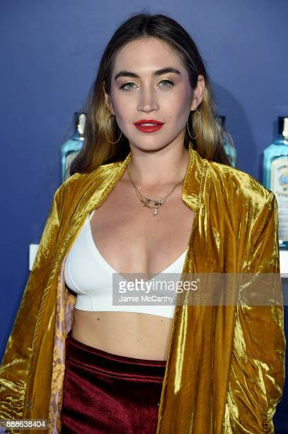 Allie Kaplan attends the 8th Annual Bombay Sapphire Artisan Series Finale Hosted By Issa Rae at Villa Casa Casuarina on December 8 2017 in Miami...