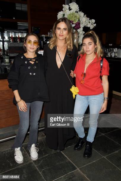 Allie Kaplan Rachel Cole and Lexi Kaplan attend the 1st Annual Voices4Freedom Charity Evening Benefit at W Los Angeles Westwood on September 27 2017...