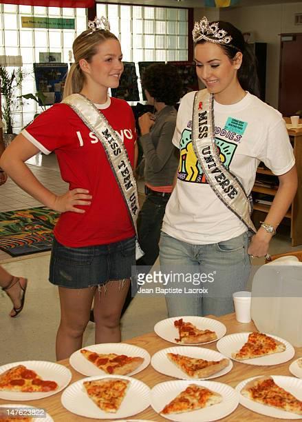 Allie LaForce and Natalie Glebova