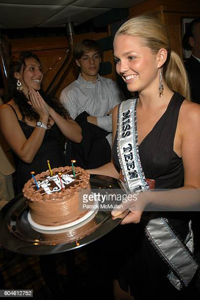 Allie LaForce attends BEST BUDDIES Dinner Cruise and Live Auction at Forbes Highlander Yacht on June 30 2006 in New York City