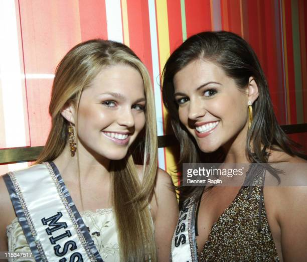 Allie LaForce Miss Teen USA 2005 and Chelsea Cooley Miss USA 2005