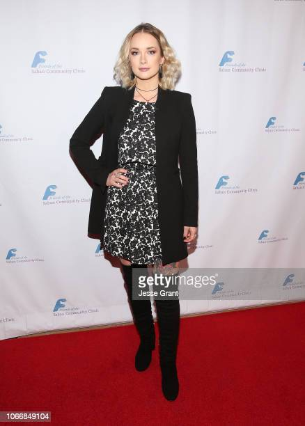 Allie MacDonald attend Friends of The Saban Community Clinic's 42nd Annual Gala at The Beverly Hilton Hotel on November 12 2018 in Beverly Hills...