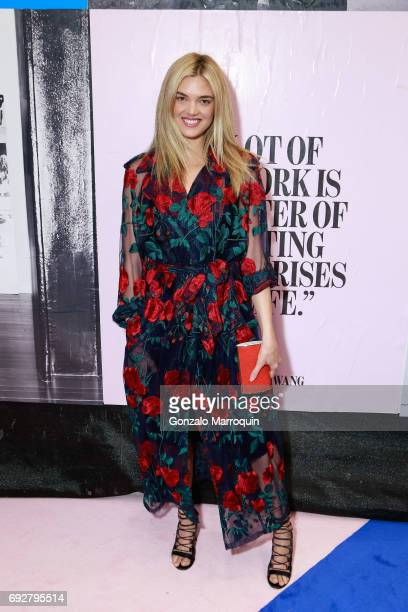 Allie Michler attends the 2017 CFDA Fashion Awards on June 5 2017 in New York City