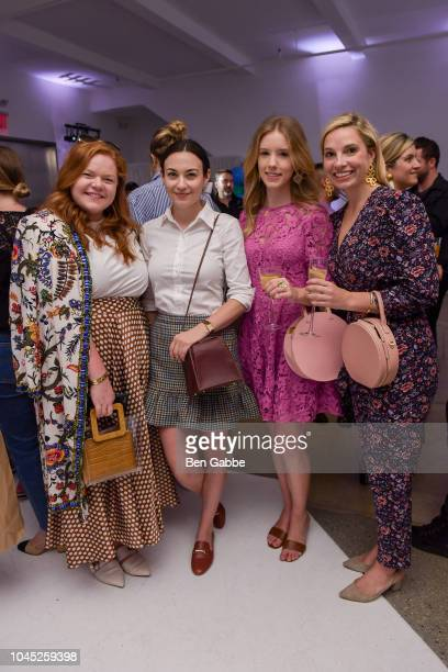 Allie Provost Carly Heitlinger Emily Byrsky and Maggie Tate attend the Nordstrom and Blair Eadie launch of the Halogen x AtlanticPacific Collection...