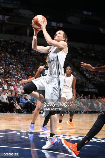 Allie Quigley of Team Parker goes to the basket against Team Delle Donne during the Verizon WNBA AllStar Game 2018 on July 28 2018 at the Target...