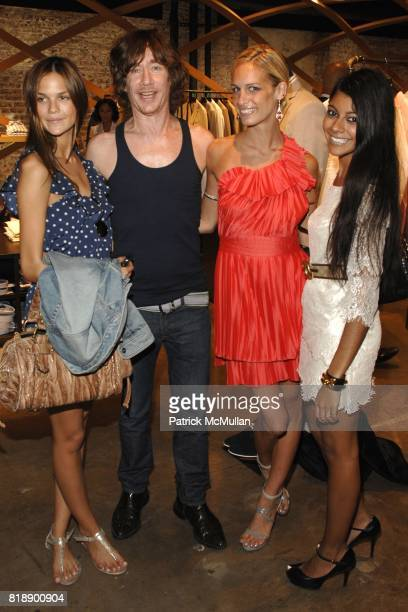 Allie Rizzo Alexa Winner and Tara Dhingra attend Hugo Boss New York Girl Style Shop Style Event at Hugo Boss on May 25 2010 in New York City