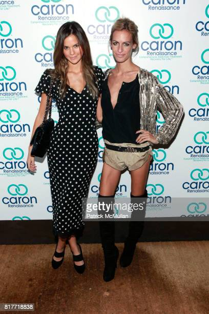 Allie Rizzo and Alexa Winner attend 2nd Annual Save a Life Event To Benefit the Caron Renaissance Lifesaver Scholarship Fund at 1 Oak on October 12...