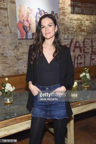 Allie Rizzo attends as Aerie celebrates #AerieREAL Role Models in NYC on January 31 2019 in New York City