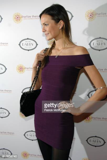 Allie Rizzo attends CHARLIZE THERON to host ANNUAL AFRICA OUTREACH PROJECT BENEFIT at THE DARBY RESTAURANT at 244 West 14th Street on December 6 2010...