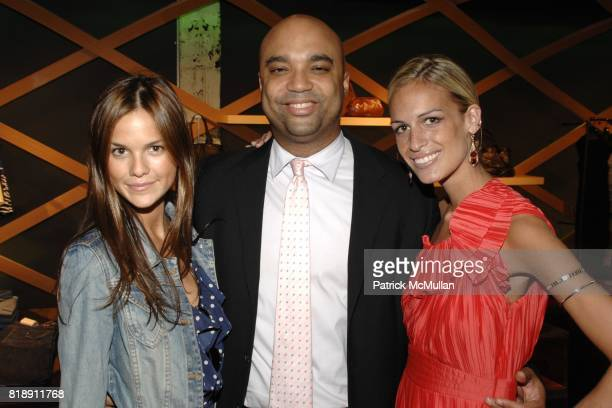 Allie Rizzo Shawn McDonald and Alexa Winner attend Hugo Boss New York Girl Style Shop Style Event at Hugo Boss on May 25 2010 in New York City