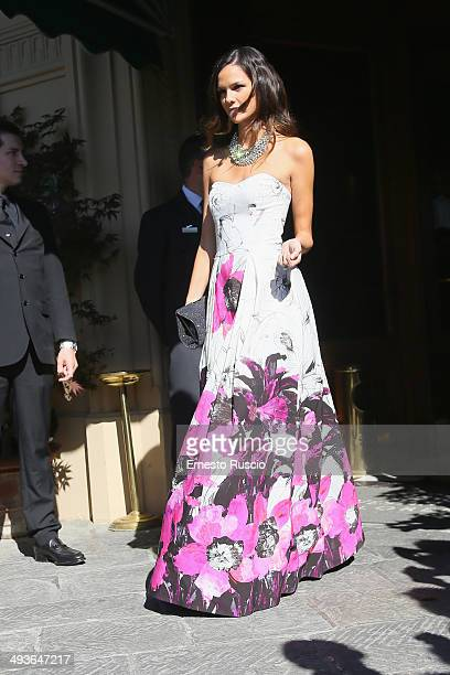 Allie Rizzo sighting at the Wedding Of Kim Kardashian And Kanye West In Florence at Four Season Hotel on May 24 2014 in Florence Italy