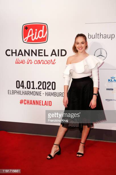Allie Sherlock during the Channel Aid Live in concert at Elbphilharmonie on January 4 2020 in Hamburg Germany