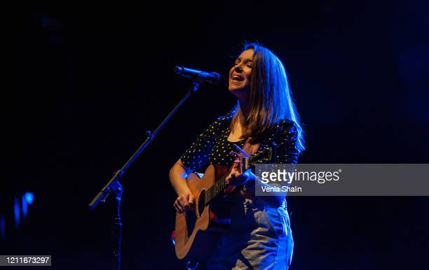 Allie Sherlock performs at London Palladium on March 10 2020 in London England