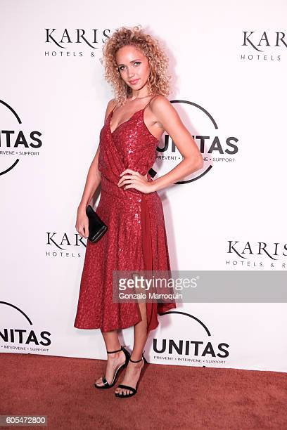 Allie Silva at the Unitas Hosts Second Annual Gala Against Human Trafficking at Capitale on September 13 2016 in New York City