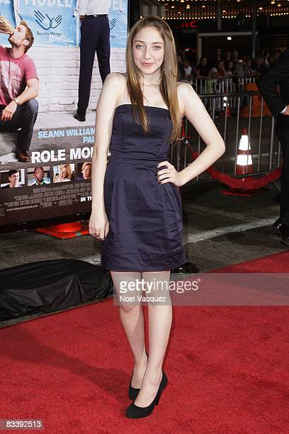 Allie Stamler attends the premiere of Universal's 'Role Models' at Mann's Village Theatre on October 22 2008 in Los Angeles California